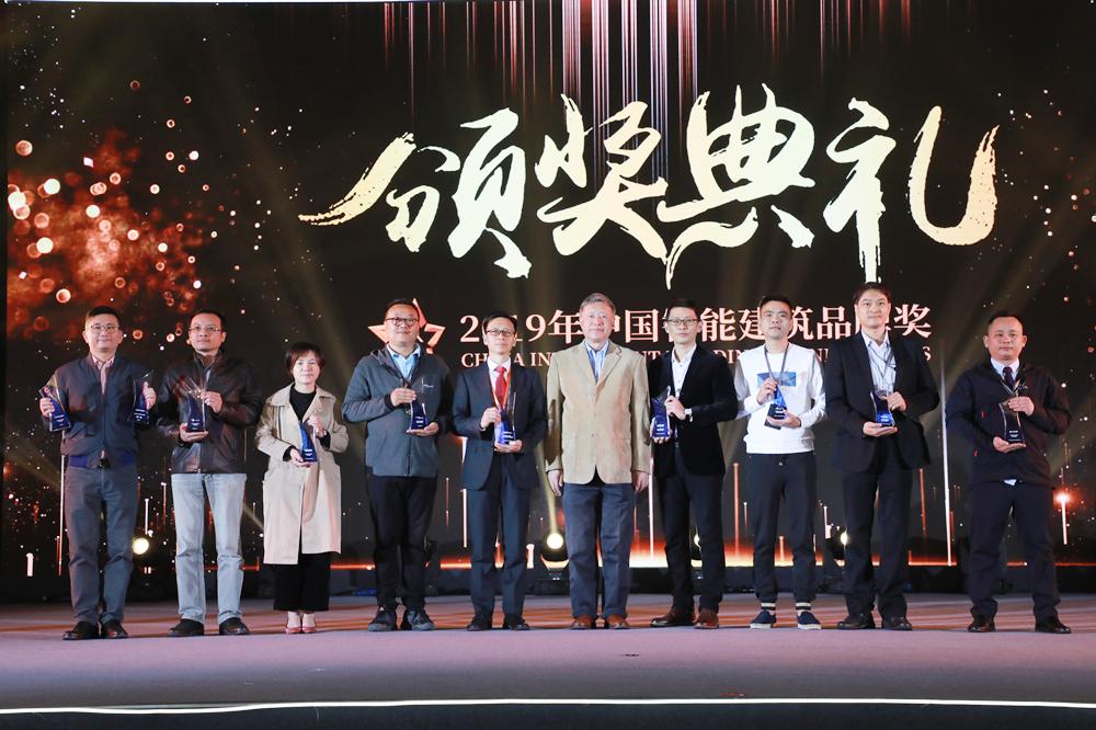 """祝贺:美国西蒙获""""2019年综合布线领先品牌奖""""!"""