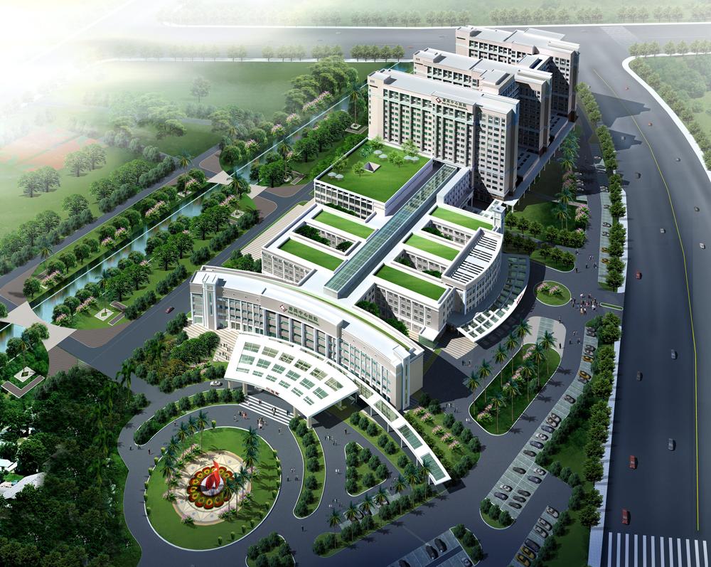 三甲医院网络重构万点案例——广州番禺中心医院
