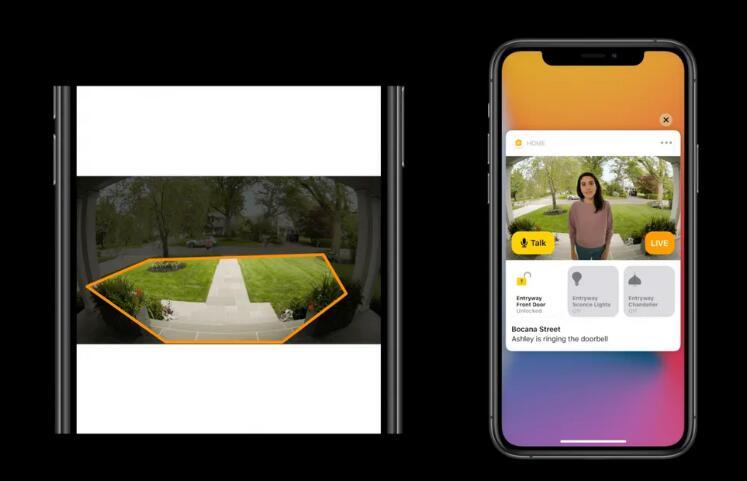 苹果新增人脸识别智能家居功能,并推出生物识别数字汽车钥匙