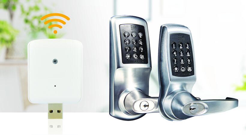 <strong>Codelocks推出用于智能锁的WiFi</strong>