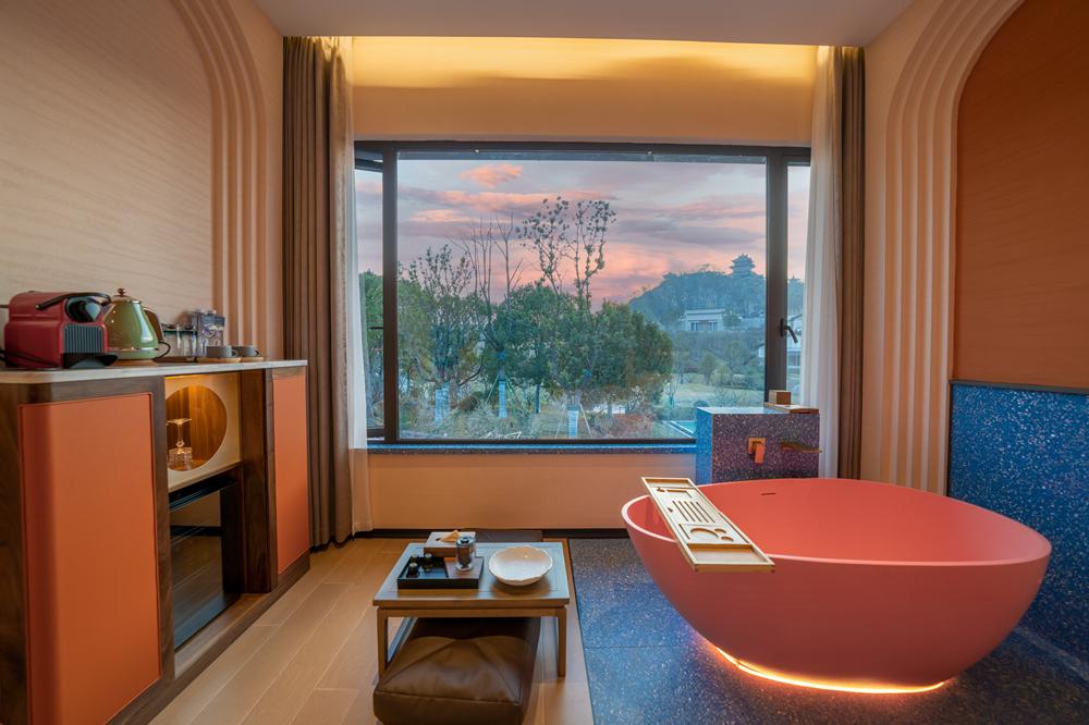 HDL智能项目:龙隐溪山酒店,这样的酒店你想住吗?