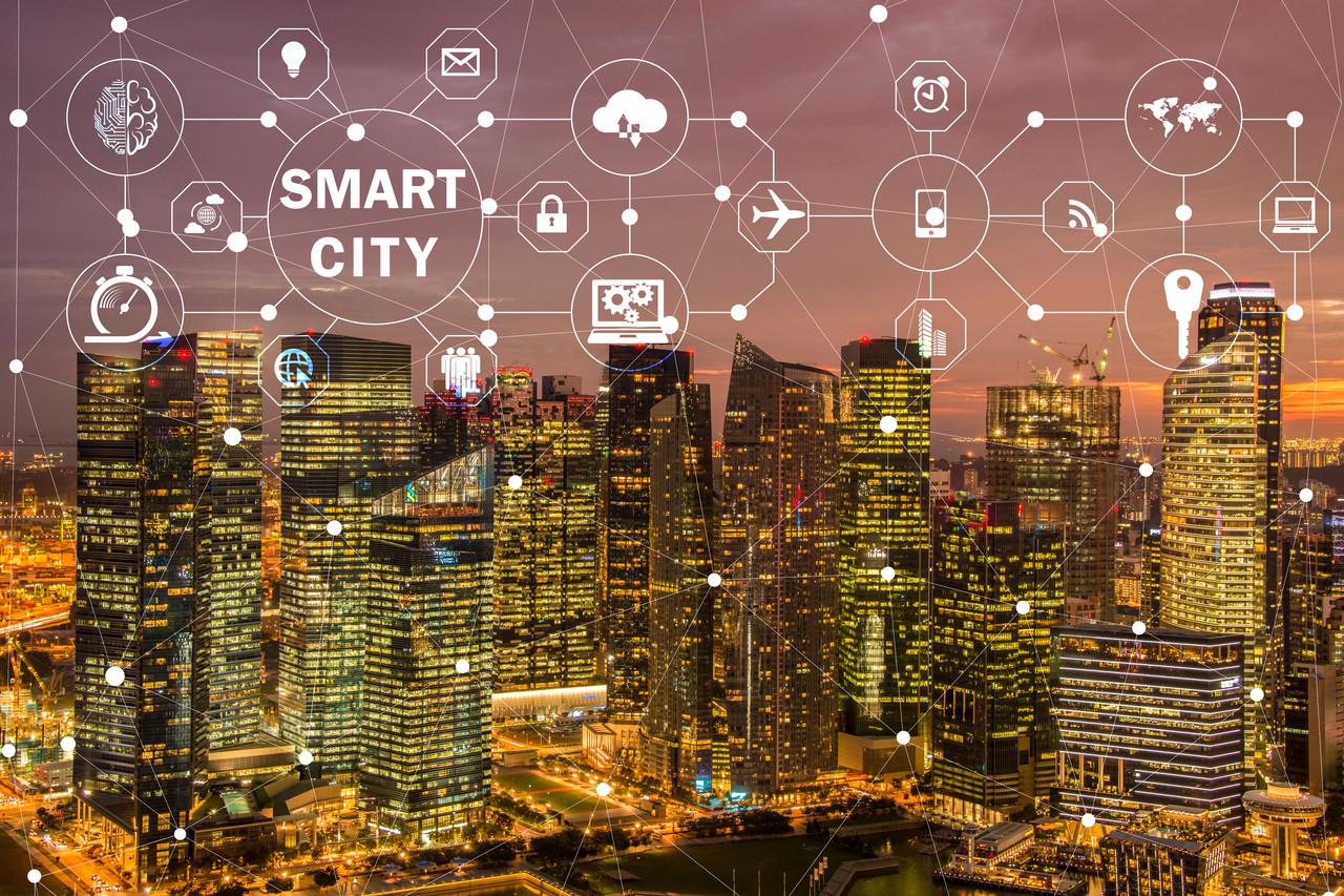 智慧城市未来的数字创新