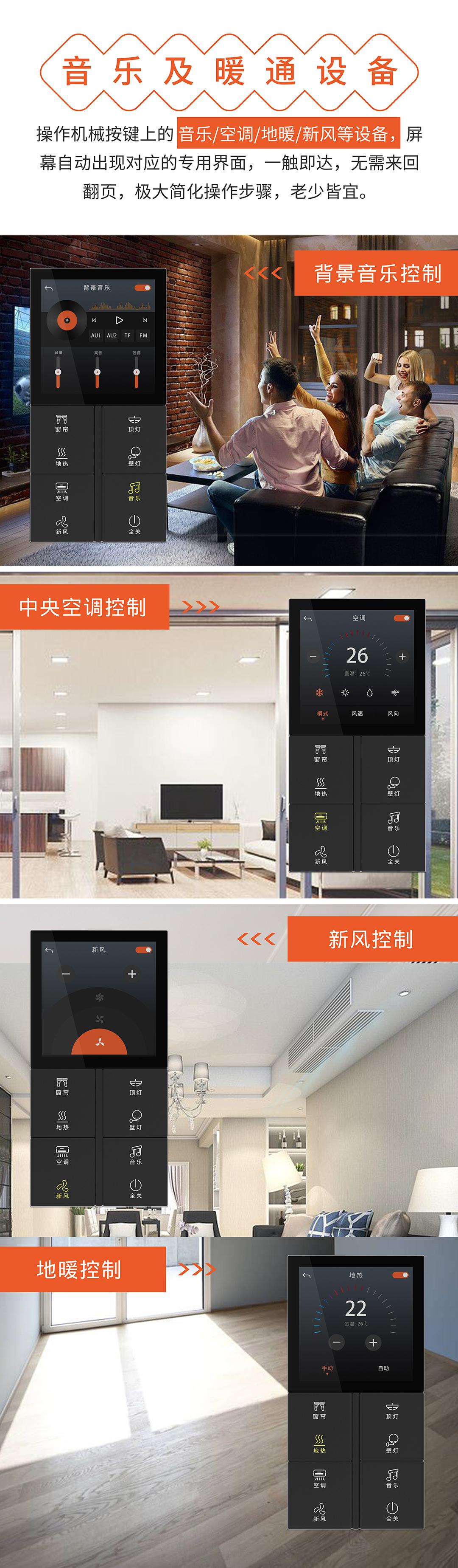 智能新品上市:图解科力屋超级智控面板