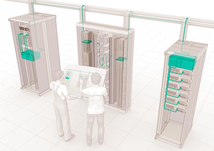 结构化布线解决方案是应对数据中心需求快速增长的关键