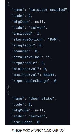 CAS智能家居新标准Matter代码抢先看