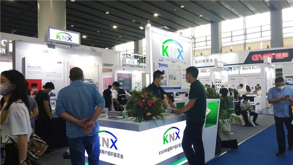 KNX 闪耀亮相2021广州国际照明展暨国际建筑电气技术
