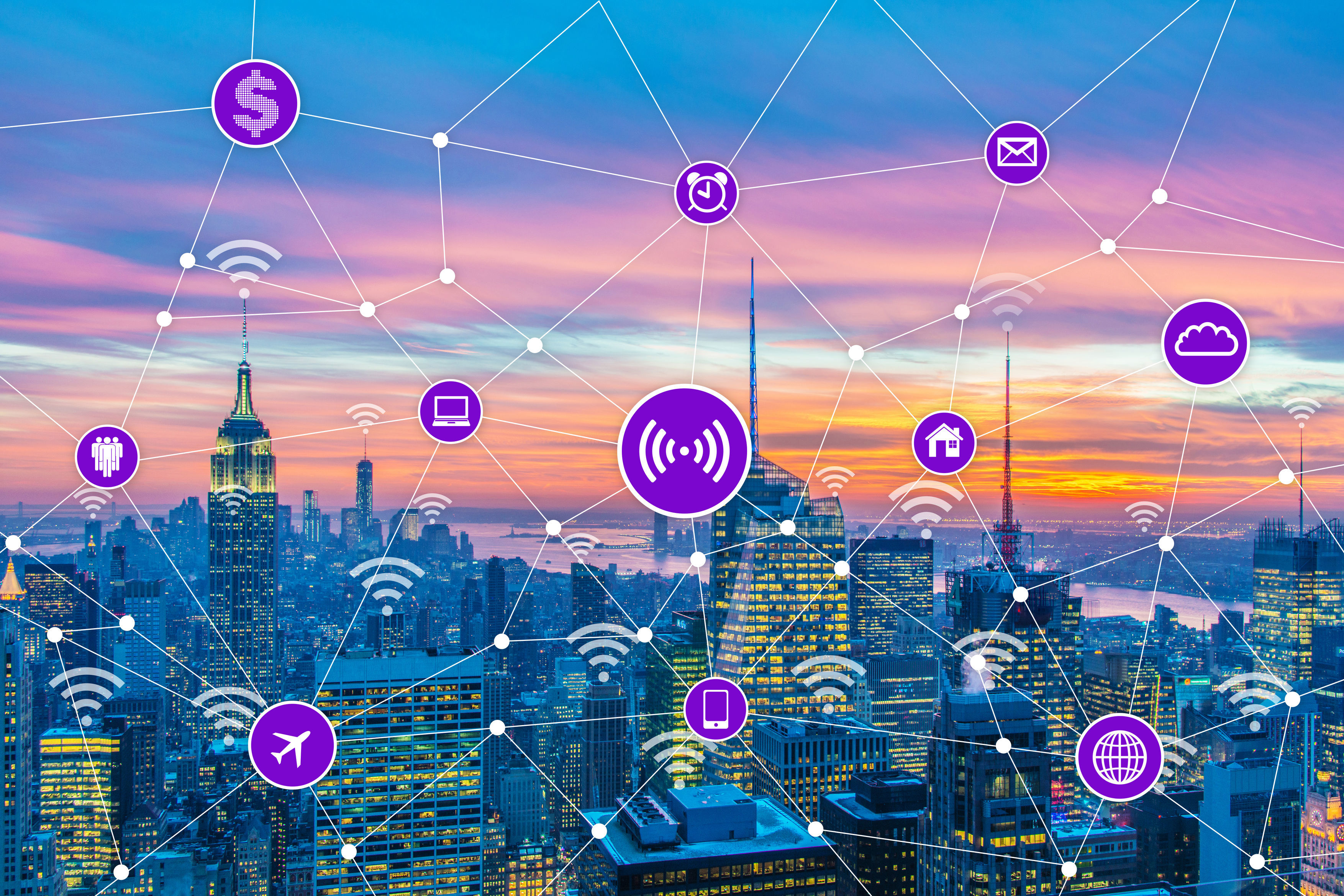 专网与5G配对助力智慧城市发展