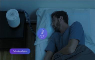 Moona智能枕头:远离失眠困扰